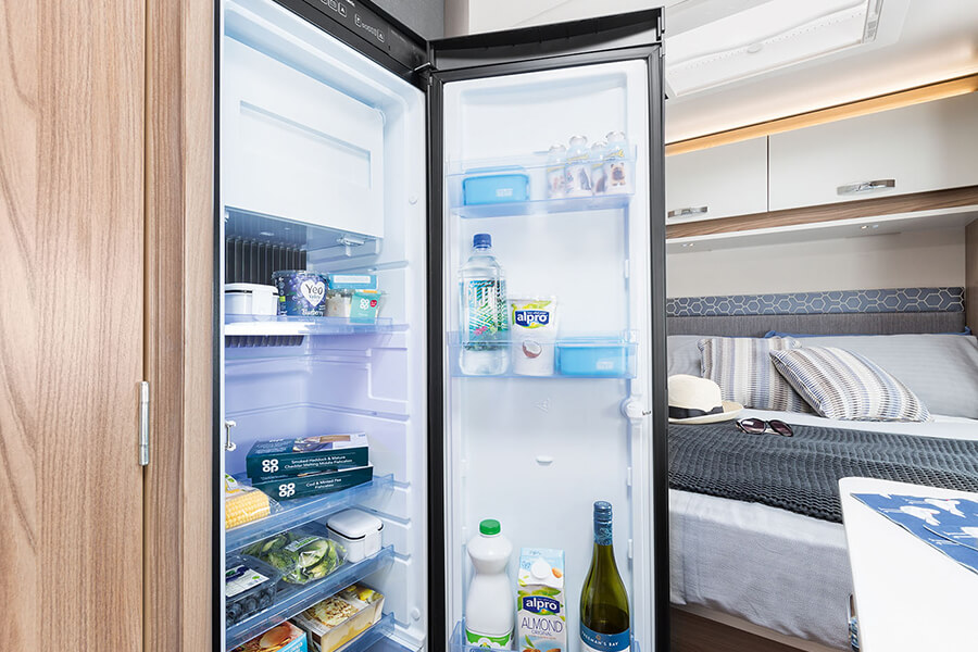 On-board fridge
