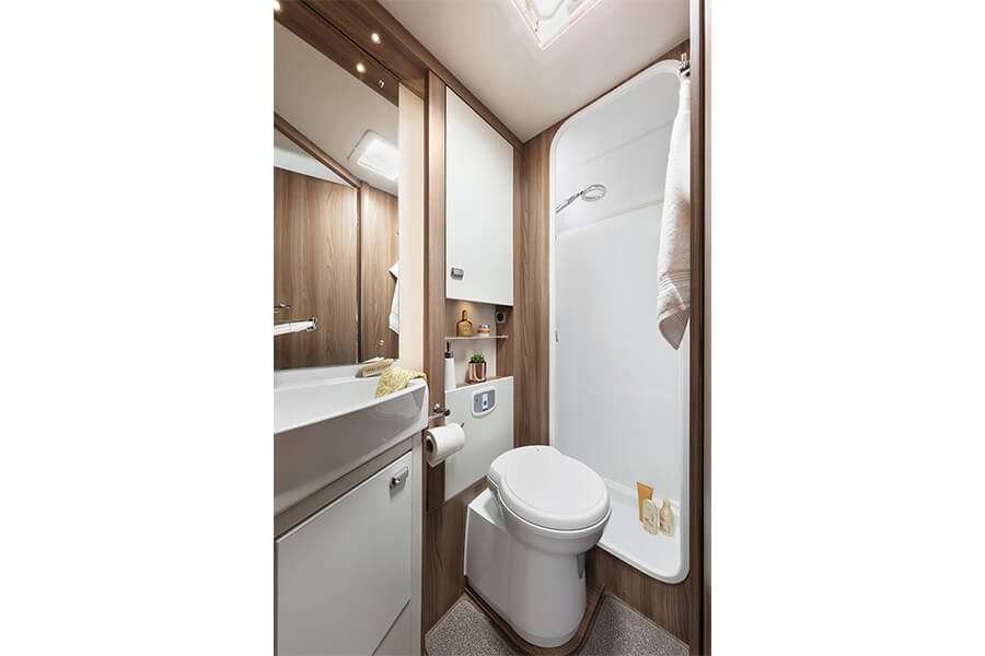 On-board washroom