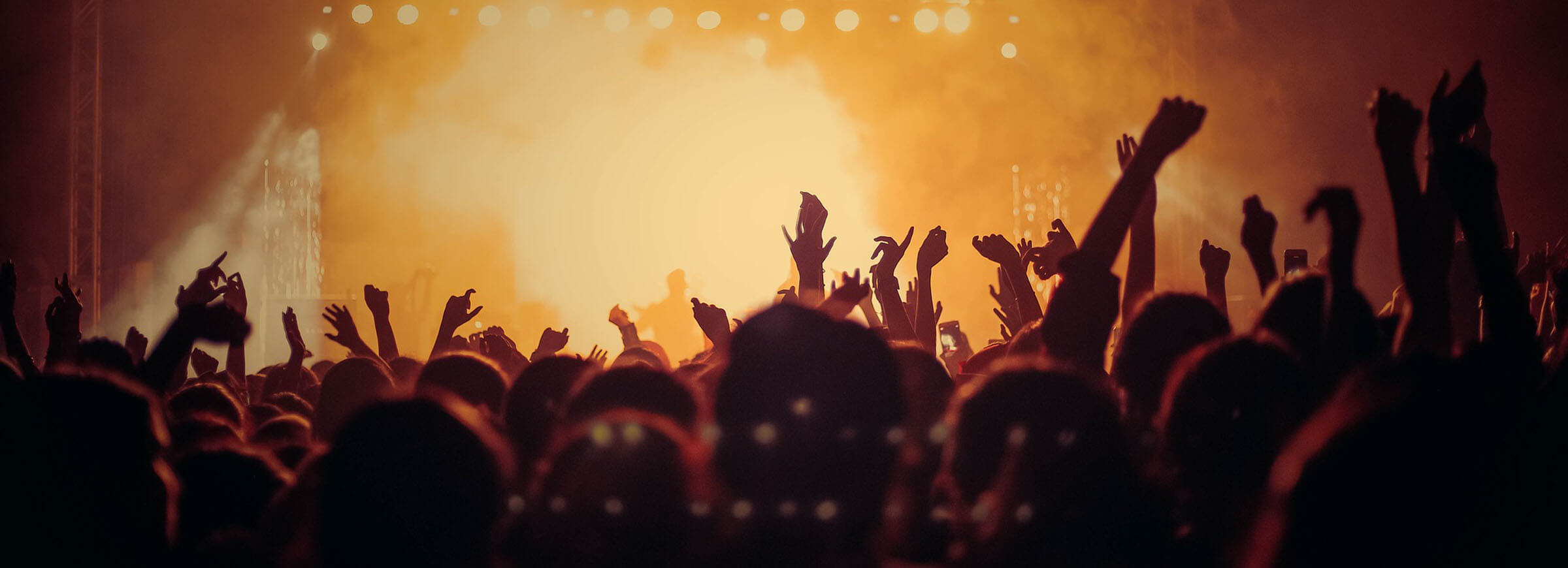 Hire a motorhome for music festivals and events